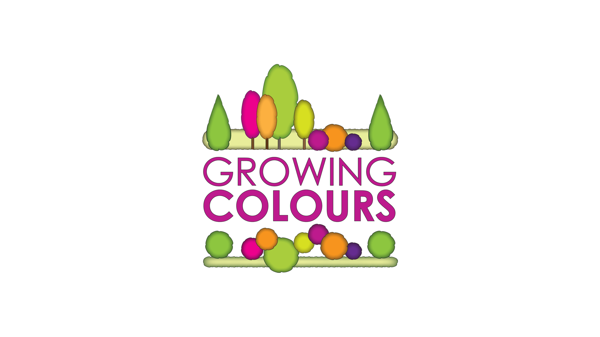 Growing Colours Logo Design