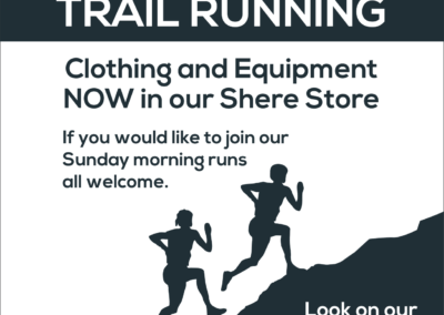 Trekhire UK Trail Running Leaflet Design and Printing